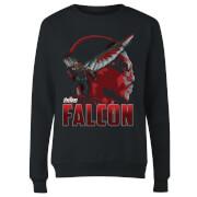 Avengers Falcon Women's Sweatshirt - Black