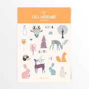 Cute Woodland Sticker Pack