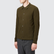 Oliver Spencer Men's Rundell Jersey Jacket - Stanhope Green - L - Green