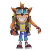 """NECA Crash Bandicoot - 7"""" Action Figure - Deluxe Jetpack Crash"""