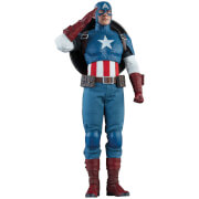 Sideshow Collectibles Marvel Comics Captain America 1/6 Action Figure 30cm
