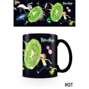 Rick and Morty (Portals) Heat Changing Mug