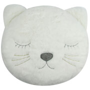 Image of Albetta Decorative Cat Cushion - Off White