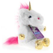 White Unicorn Snuggable Hottie