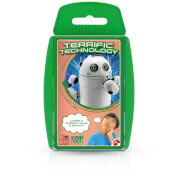 Image of Top Trumps Card Game - STEM Terrific Tech Edition