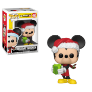 Figura Funko Pop! - Mickey Navideño - Mickey Mouse