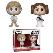 Star Wars Princess Leia & Luke Skywalker Vynl.