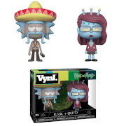 Rick mit Sombrero & Unity Vynl.