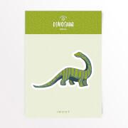 Dinosaurier Diplodocus Vinyl Aufkleber