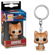Marvel Captain Marvel Goose the Cat Pop! Keychain