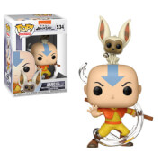 Avatar Aang with Momo Pop! Vinyl Figure