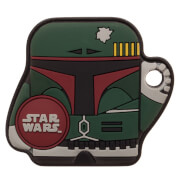 FoundMi Star Wars Bobba Fett Rubber Key Chain Tracker