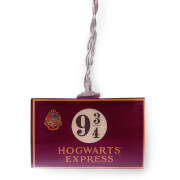 Harry Potter Hogwarts Express 9 3/4 2D Lichterketten