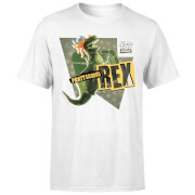 Toy Story Partysaurus Rex Men's T-Shirt - White