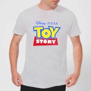 Camiseta Disney Toy Story Logo - Hombre - Gris - 3XL - Gris