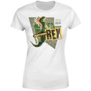Toy Story Partysaurus Rex Women's T-Shirt - White