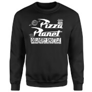 Sweat Homme Logo Pizza Planet Toy Story - Noir
