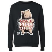 Toy Story Kung Fu Pork Chop Women's Sweatshirt - Black