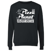 Toy Story Pizza Planet Logo Women's Sweatshirt - Black