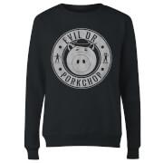 Toy Story Dr Porkchop Women's Sweatshirt - Black
