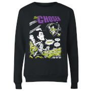 Toy Story Comic Cover Women's Sweatshirt - Black