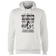 Toy Story Wanted Poster Hoodie - Weiß