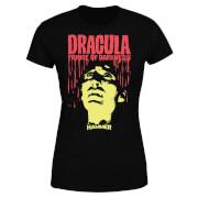 Hammer Horror Dracula Prince Of Darkness Women's T-Shirt - Black