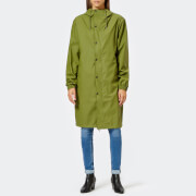 RAINS Women's Fishtail Parka - Sage - M-L - Green