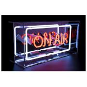 Acrylic Box Neon 'On Air' Sign