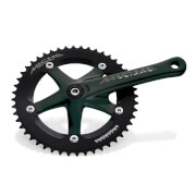Miche Primato Advanced Track Chainset - Black - 172.5mm - 50T - Black
