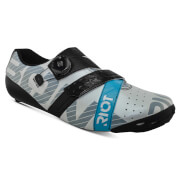 Bont Riot+ Road Shoes – EU 41 – White/Black