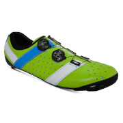 Bont Vaypor + Road Shoes - EU 41 - Normal Fit - Green/Blue