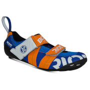 Image of Bont Riot TR+ Road Shoes - EU 40.5 - Blue/Red