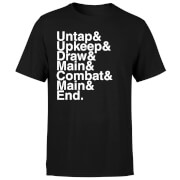 T-Shirt Homme Phases - Magic : The Gathering - Noir