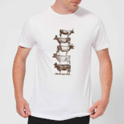 Cow Cow Nuts Men's T-Shirt - White