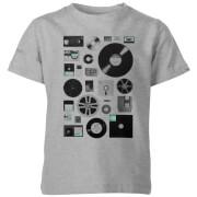 Data Kids' T-Shirt - Grey
