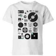 Data Kids' T-Shirt - White - 9-10 Years - White