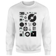 Data Sweatshirt - White