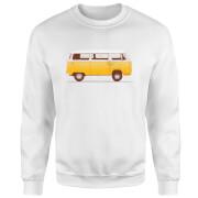 Yellow Van Sweatshirt - White