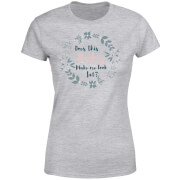 Be My Pretty Does This Baby Women's T-Shirt - Grey