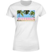 Be My Pretty Life Goals Women's T-Shirt - White