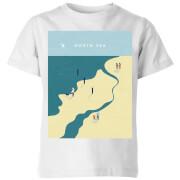 North Sea Kids' T-Shirt - White