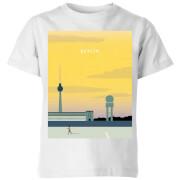 Berlin Kids' T-Shirt - White