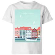 Copenhagen Kids' T-Shirt - White