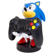 Figurine de support Cable Guy pour manette ou smartphone à collectionner – Sonic the Hedgehog Classic – env. 20 cm