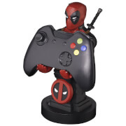 Figurine de support Cable Guy pour manette ou smartphone à collectionner – Marvel – Deadpool – env. 20 cm