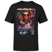 T-Shirt Homme Terminator Affiche Japonaise - Noir