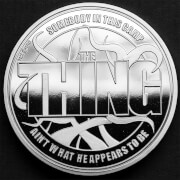 John Carpenter's 'The Thing' Collector's Limited Edition Coin: Silver Variant – Zavvi Exclusive