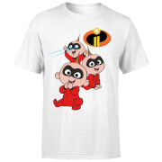 Incredibles 2 Jack Jack Poses T-shirt - Wit
