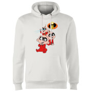 Incredibles 2 Jack Jack Poses Hoodie - White